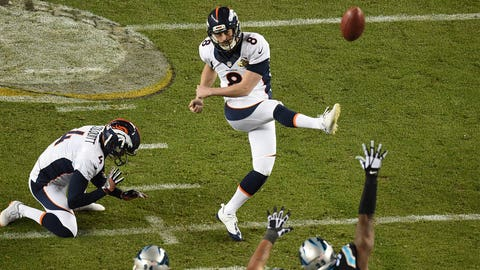 Brandon McManus, kicker, Broncos