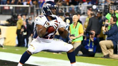 C.J. Anderson, running back, Denver Broncos