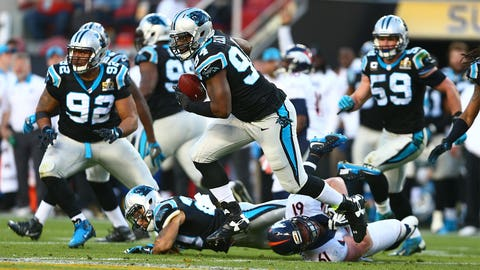 Kony Ealy, defensive end, Panthers