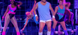Watch Randy Couture go full-80s with tiny shorts in 'Lip Sync Battle' performance