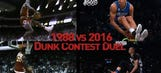 Who dunked it better? Watch video merging Jordan-Wilkins, LaVine-Gordon contests