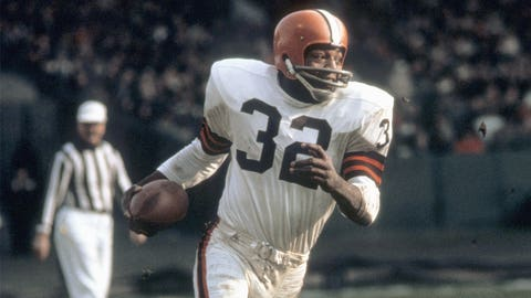 Cleveland Browns: RB Jim Brown, first round (6 overall), 1957