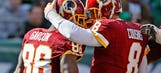 Pierre Garcon tells the Washington Redskins exactly what to do with Kirk Cousins