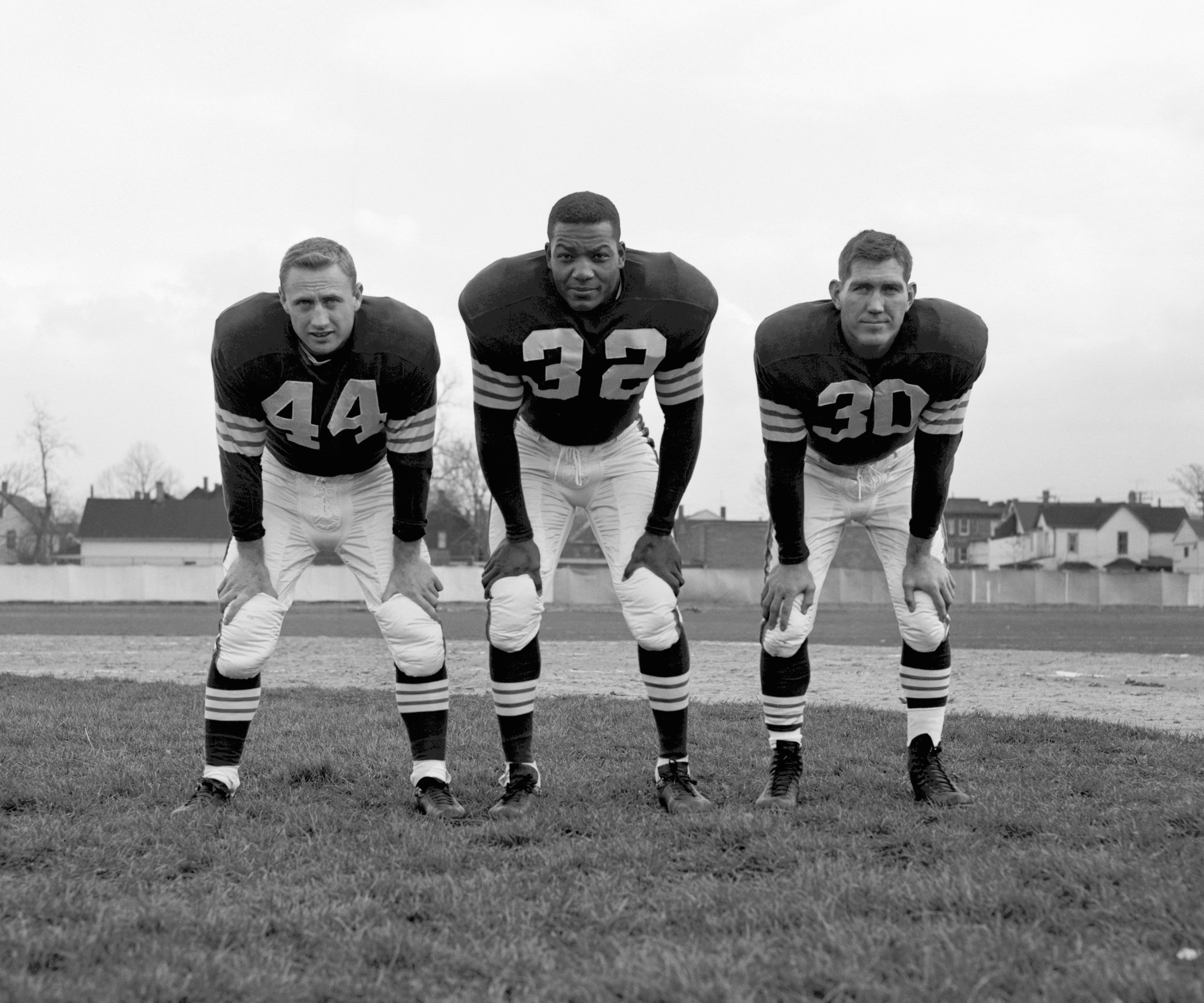 best sneakers 61fa4 c69b9 15 throwback photos of Jim Brown on the legend's 80th ...