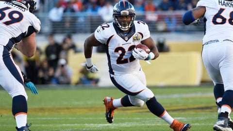 C.J. Anderson is the workhorse back