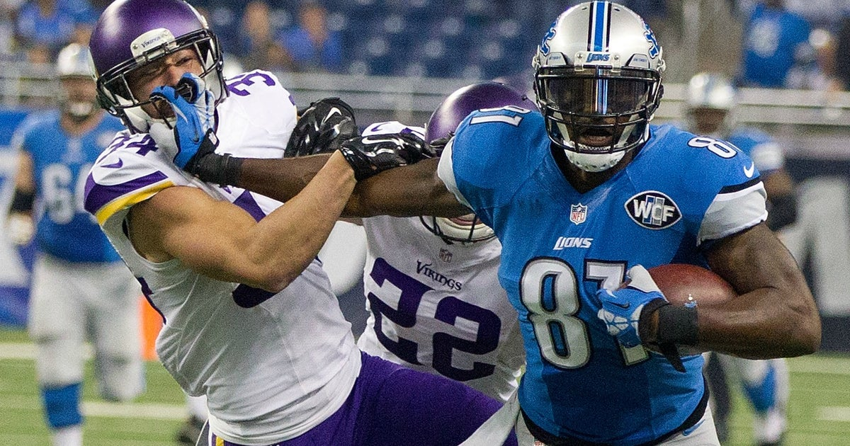 45c374649 Former Lions receiver Calvin Johnson says he was  fed up  when he retired