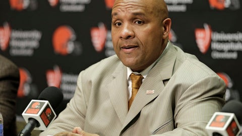 Hue Jackson -- Cleveland Browns