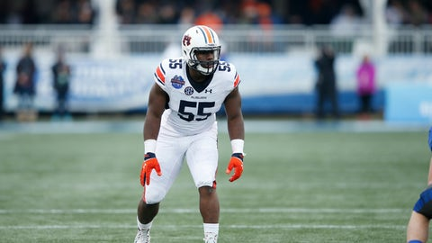 Cincinnati Bengals: DE Carl Lawson (4th round, No. 116)