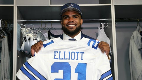 Ezekiel Elliott, RB, Dallas Cowboys