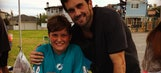 Matt Leinart's 9-year-old son might have a better arm than he does