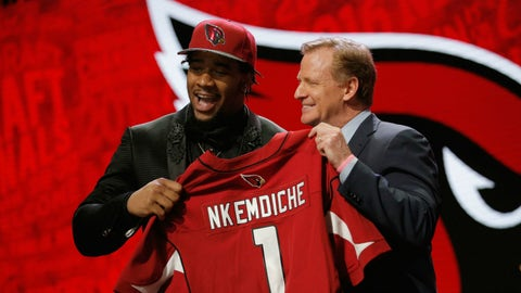Arizona Cardinals: DE Robert Nkemdiche, 1st round (29th overall)