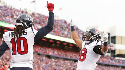 Houston Texans -- Pass catchers not named DeAndre Hopkins