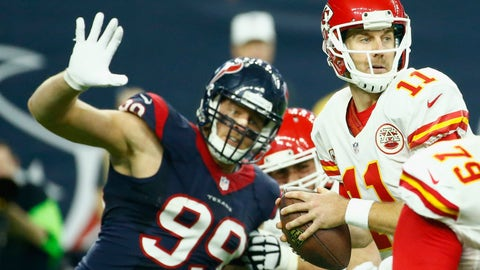 TEXANS (-2) vs. Chiefs (Over/under: 43.5)