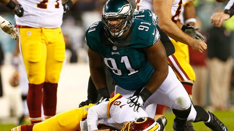 Defensive tackle: Fletcher Cox, Philadelphia Eagles
