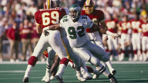 Eagles DE Reggie White: Packers, Panthers