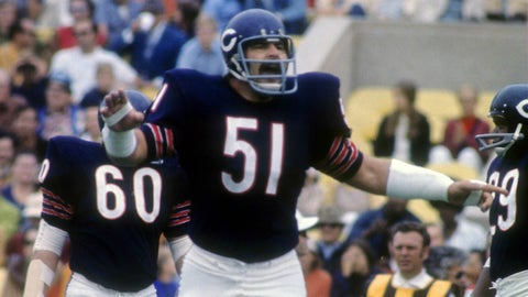 (4) Dick Butkus -- linebacker