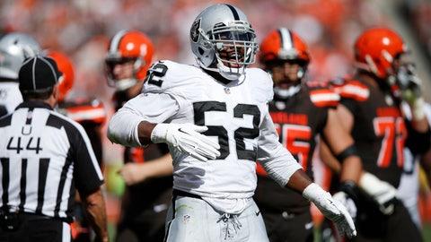 Oakland Raiders: Khalil Mack, DE
