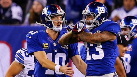 Wide receiver: Odell Beckham Jr., New York Giants
