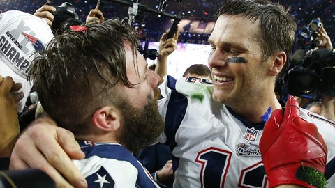 Patriots to win the Super Bowl (+600)