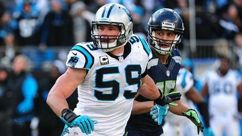 Luke Kuechly, LB, Panthers