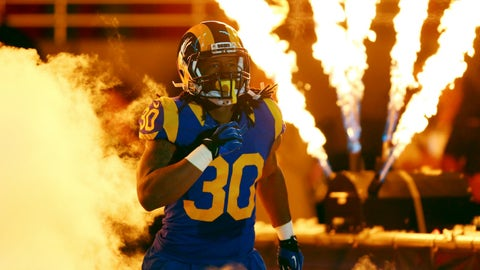 RB: Todd Gurley, Los Angeles Rams