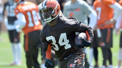 Cleveland Browns -- Isaiah Crowell (RB)