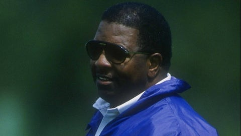 Becoming the first African-American coach in Vikings history