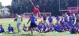 Watch Odell Beckham school a helpless kid with a spectacular one-handed catch