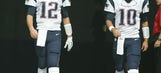 Patriots report, prepare for 4 games without Brady