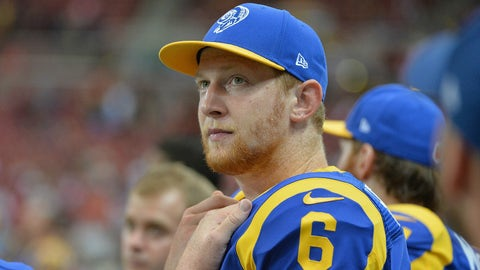 Punter: Johnny Hekker, Los Angeles Rams