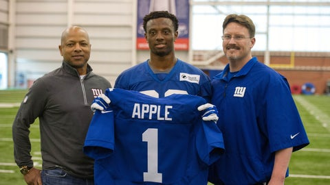 New York Giants: an unfixed secondary