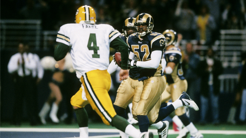January 13, 2002 – Six interceptions in a playoff loss