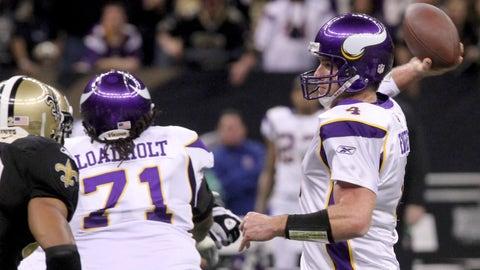 2010: Saints 14, Vikings 9