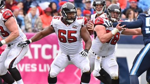 Atlanta Falcons: Right guard