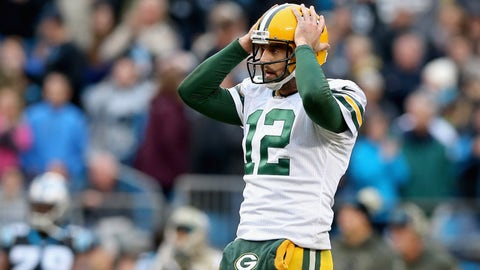 Aaron Rodgers and the Packers' struggles carrying over from 2015