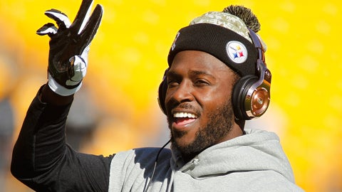 Antonio Brown, WR, Pittsburgh Steelers