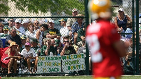 His return to Green Bay after unretiring