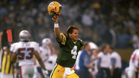 Super Bowl XXXI: Brett Favre vs. Drew Bledsoe