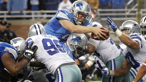 Detroit Lions: Week 8, 2013, vs. Dallas Cowboys