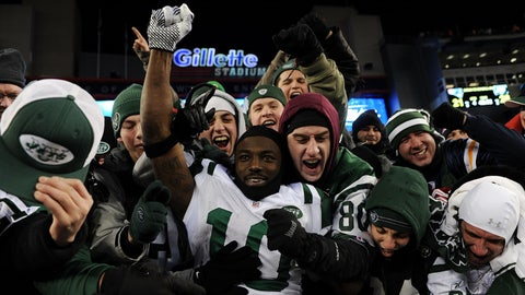 New York Jets: 2010 AFC divisional playoff vs. New England Patriots