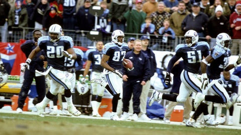 Tennessee Titans: 1999 AFC wild card vs. Buffalo Bills