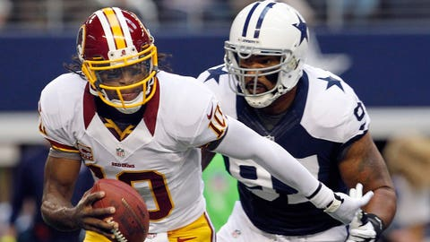 2012: Washington Redskins 38, Dallas Cowboys 31