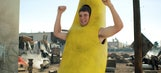 Watch Eli Manning as a dancing banana in a new commercial