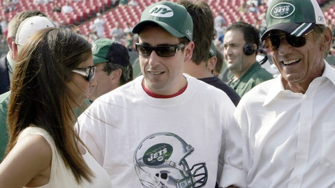 New York Jets: Adam Sandler