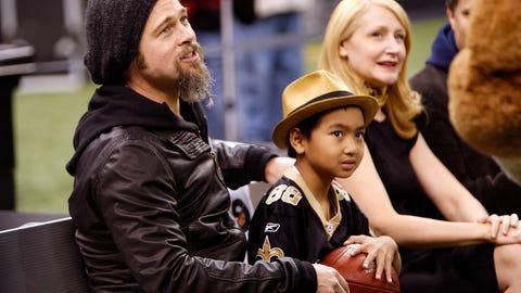 New Orleans Saints: Brad Pitt