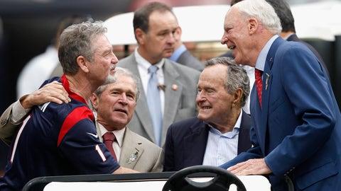 Houston Texans: George Bush Sr. and George W.