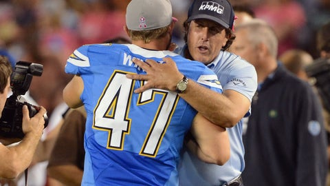 San Diego Chargers: Phil Mickelson