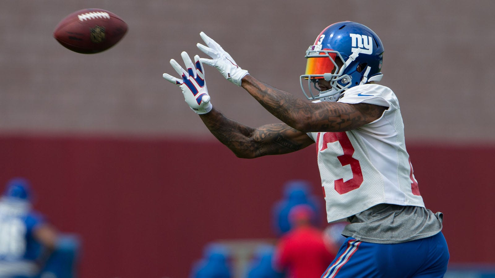 Odell Beckham Jr Says He Still Can Improve In One Area Fox Sports
