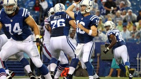 Indianapolis Colts: Scott Tolzien, Stephen Morris