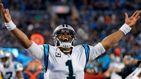 Cam Newton, QB, Carolina Panthers
